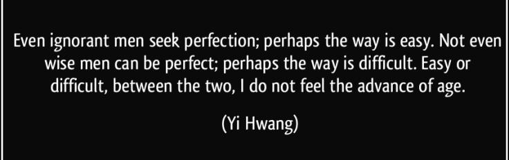 perfection_yi hwang